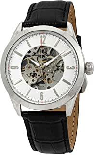 Lucien Piccard Men's LP-10660A-02S Loft Analog Display Automatic Self Wind Black Watch