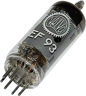 EF 93 = 6 BA 6 Tubo eléctrico Pentode 100 V 10.8 mA Número de polos: 7 Casquillo: B7G Contenido 1 St.