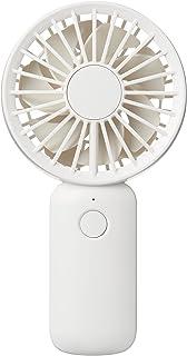 無印良品 充電式モバイルハンディファン MJ-MH1 44608128 白 レギュラー