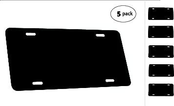 Best blank metal car tags Reviews