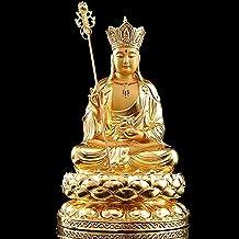 PPCP Sakyamuni Buddha Statue Meditation Peace Harmony Statue Religious Decoration Southeast Asian Style Crafts 18×30cm