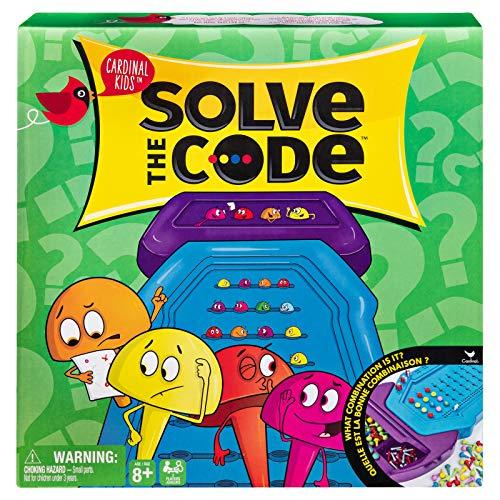 CARDINAL GAMES- Cardinal Kids Gioco Solve The Code, Multicolore, 6054216