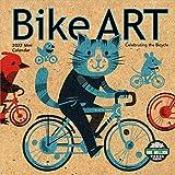 "Bike Art 2022 Mini Wall Calendar: In Celebration of the Bicycle (7"" x 7"", 7"" x 14"" open)"