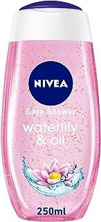 جل استحمام للشعور بالانتعاش بتركيبة زنبق الماء والزيت من نيفيا، 250 مل