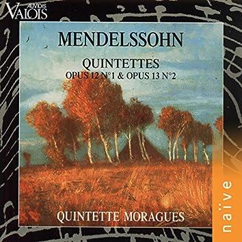 Mendelssohn: Quintettes Op. 12 No. 1 and Op. 13 No. 2 (Arr. for Wind Quintet)
