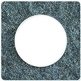 Schneider Electric SC5S52C802R Plaque 1 poste Odace Touch Translucide Liseré blanc