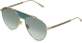 Sunglasses Jimmy Choo Neva//F//S 0PEF Gold Green//IB gray green lens