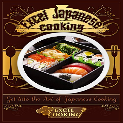 Excel Japanese Cooking audiobook cover art