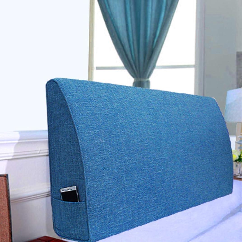 原油前述の部分コンフォート ベッドウェッジ枕-ソファベッド オフィス椅子クッション, 読書枕 ソリッドトライアングルクッション布張り ベッド ヘッドボード ベッド バックレスト 枕 取り外し可能な畳-12