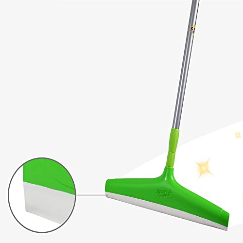 Scotch-Brite Plastic Floor Squeegee Wiper -with telescopic handle (Green/Silver) product image
