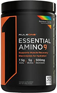 Rule one Essential Amino 9 Rainbow Candy 30 SVG, 345g