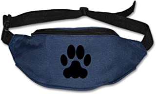 Myfa Fanny Pack Cat Cougar Feet Waist Pack Festival Bum Bag-Fanny Pack with Adjustable Belt for Travel,Cycling,and Leisure