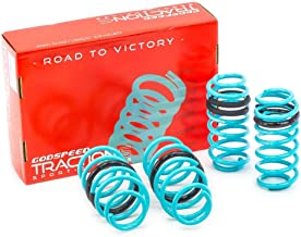 Godspeed LS-TS-HA-0009 Traction-S Performance Lowering Springs, Reduce Body Roll, Improved Handling, Set of 4