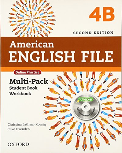 American English File 4B - Multipack: with Online Practice and iChecker