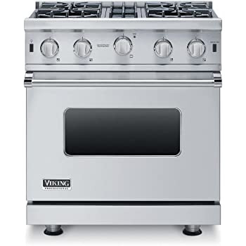 ft VGIC53616BSS 36 Professional 5 Series Gas Range with 6 Open Burners 5.1 cu Capacity VariSimmer Setting SureSpark Ignition and Gourmet-Glo Infrared Broiler in Stainless Steel