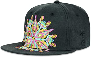 sacred geometry fitted hats