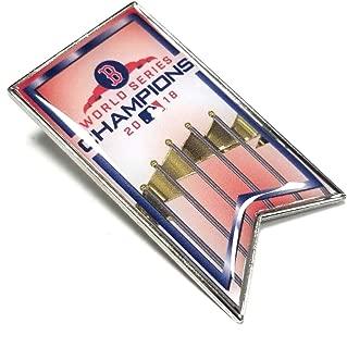 aminco 2017 World Series Champions Boston Red Sox Banner Lapel Pin