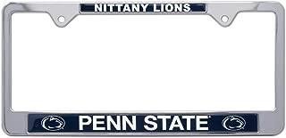 AMG Auto Emblems All Metal NCAA Mascot License Plate Frame (Penn State)