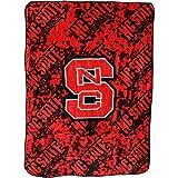 College Covers NCAA Rachel Throw Blanket, 63' x 86', NC State Wolfpack