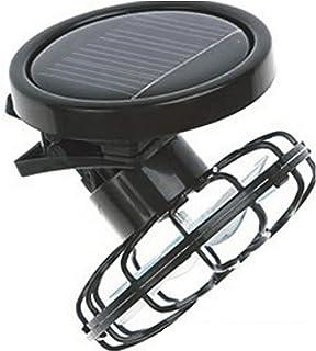 Ventilador solar con clip, ventilador solar, enfriador de celda de refrigeración, panel de energía solar portátil, mini ventilador para camping, senderismo, pesca al aire libre redondo As Picture Show