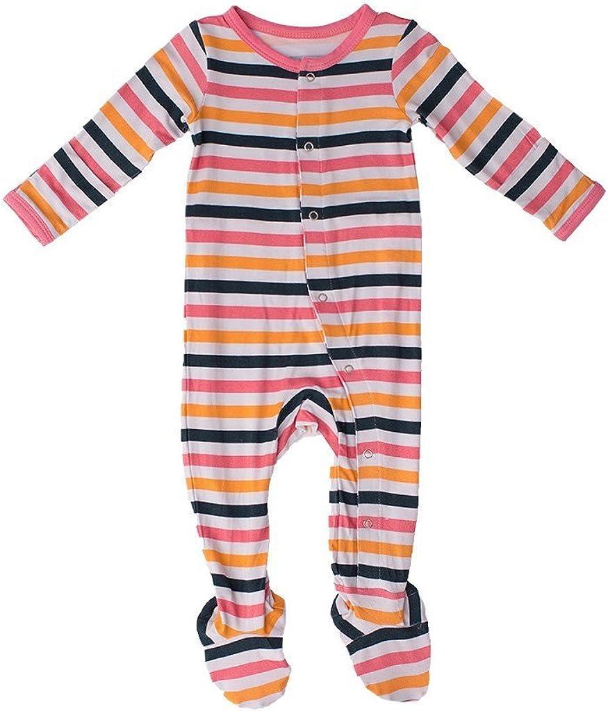 Kozi Co. Baby Sleeper Footie St discount Pajamas Adventure Infant Selling rankings Girls