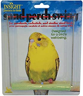 JW Pet Insight Sand Perch Bird Swing Small 16x14cm