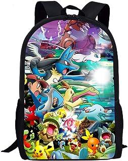 Middle School Backpack for Elementary School Lightweight Cute Cartoon Kids Book Bag