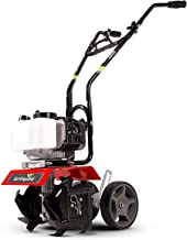 Earthquake 31635 MC33 Mini Tiller Cultivator, Powerful 33cc 2-Cycle Viper Engine, Gear..
