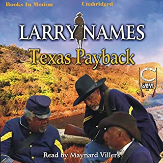 Texas Payback audiobook cover art
