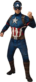 Rubie's Men's Marvel: Avengers 4 Deluxe Captain America Costume & Mask Adult Costume