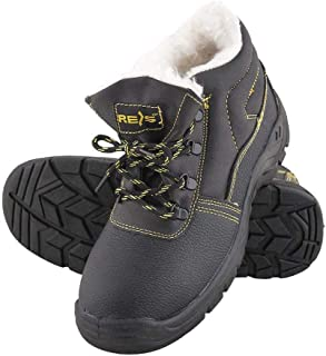 Work Boots Safety Boots To S3 Cowhide Leather Upper Padding Winter Boots Steel Toe Cap