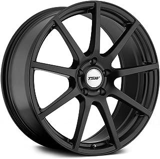 TSW 18 Inch 18x9 wheels INTERLAGOS Matte Black wheels rims