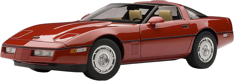 CHEVROLET CORVETTE 1986 rot (rot) AutoArt 1 18 B008KHFSPW Louis, ausführlich  | Sehr gute Farbe