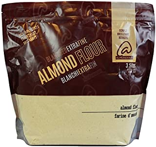 Almondena Extra Fine Premium Almond Flour (Blanched) for Baking and Cooking, 3.5 lbs   All Natural, Vegan, Vegetarian, Pal...