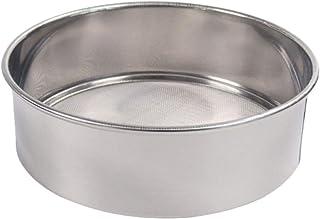 Dreamseeker 15cm Stainless Steel Flour Sieve, Icing Sugar Sieve, Traditional Chinese Medicine Powder Sieve, 60 Mesh 40 Mesh
