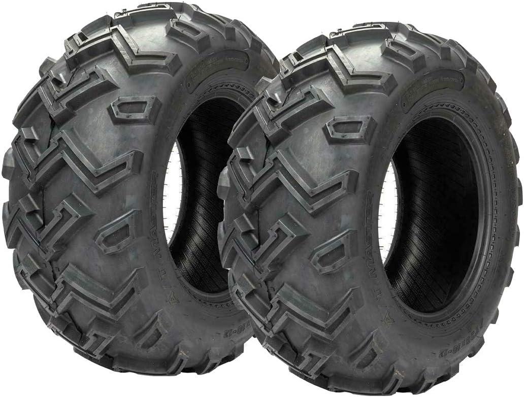 Max 62% OFF Set of 2 Discount mail order 25x10-12 Rear ATV UTV 25 25x10x12 Tires 6 Ply 12.00-10