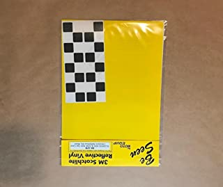 Moto Equip Black Checker Pattern Reflective Sticker Kit made from 3M Scotchlite Vinyl tape for BMW R1200GS Adventure Topcase/Trunk ME-RK-47B
