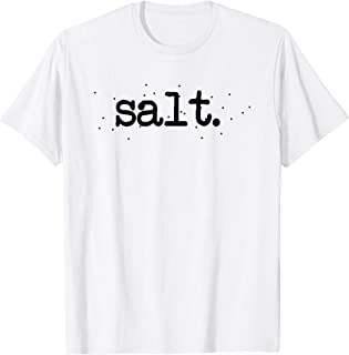 Matching Halloween Couples SALT And Pepper Easy Costume Gift T-Shirt