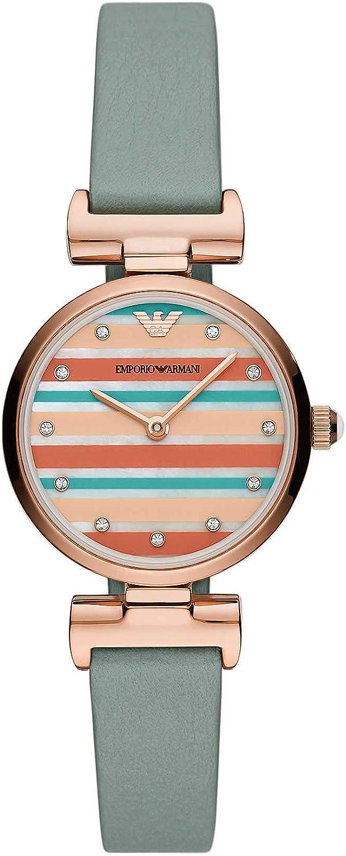 Emporio Armani Reloj Analógico para Mujer de Cuarzo AR11292