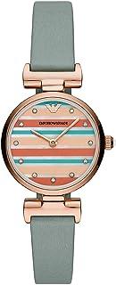 Emporio Armani Ladies Wrist Watch, Blue