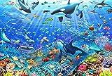 WXLSL Puzzles Rompecabezas Peces De Mar Profundo El Rompecabezas De...