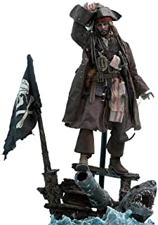 Hot Toys Captain Jack Sparrow Sixth Scale Figure Pirates of the Caribbean: Dead Men Tell No Tales - DX Series Movie Master...