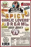 Spicy Garlic Lovers' Dream Beef Jerky-GLUTEN FREE - No Preservatives, Nitrites, or MSG