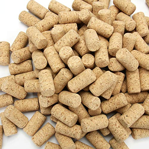 "Tosnail 150 Pack #9 Blank Wine Corks Straight Corks Wine Stoppers - 15/16"" x 1 3/4"""