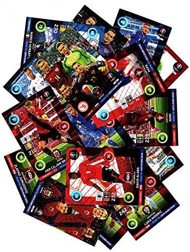 Panini Road to UEFA EM 2016 Sammelkarten - 50 Basiskarten Teammate & Line-Up Neu