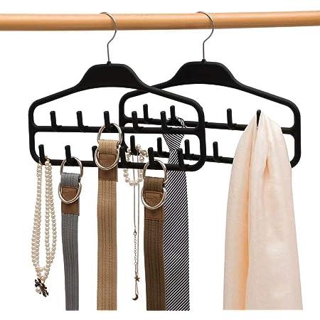Ring Hat//Tie//Strap//Necktie Holder Hanger Organiser Belt Storage Hook Tool