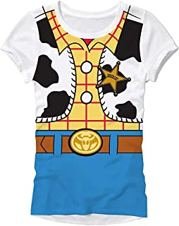 Disney Pixar Toy Story Woody Costume Juniors T-Shirt
