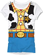 Disney Pixar Toy Story Woody Costume Juniors T-Shirt