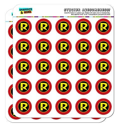 Batman Robin Symbol Planer Kalender Scrapbooking Crafting Sticker 50 1