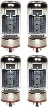 Brand New Current Matched Quad Svetlana 6550 / 6550C (KT88) Vacuum Tubes